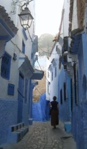 A walk through Chefchaouen, Morocco